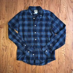 Old Navy Men's Plaid Button Down Shirt | sz S
